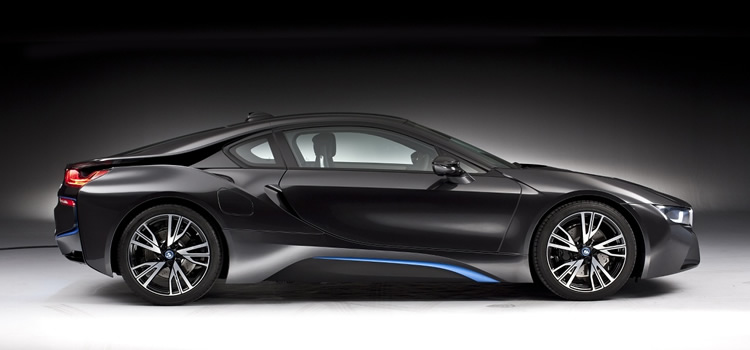 electric car BMW i8 Plug-In