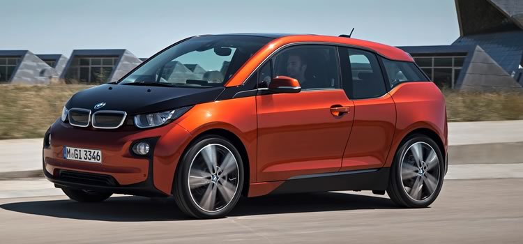 electric car bmw i3 rex