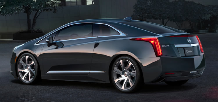 electric car Cadillac ELR Plug-In