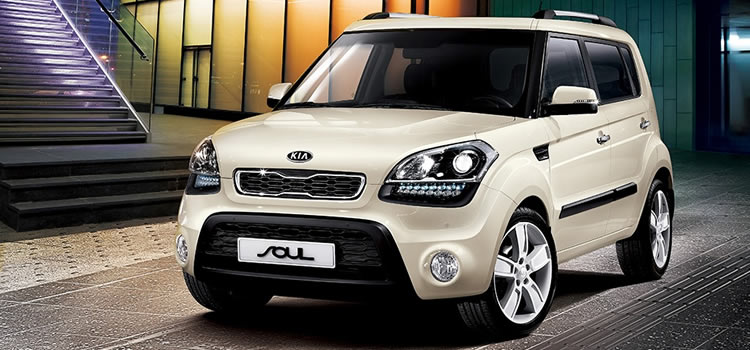 electric car Kia Soul ECO EV